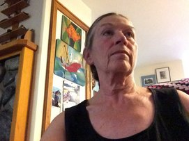 Ann Prendergast,  Sointula, British Columbia, CA (population 800)